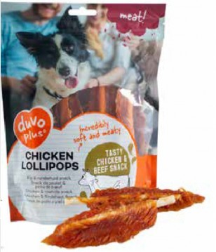 Duvo+ meat! - Chicken Lollipops - 400gr - Nyhet!