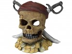 Dekoration - Aqua Della - Pirate Skull Sword Head - 22x17x20cm
