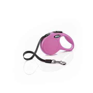 Flexi New Classic - XS - 3m Band - Max 12Kg - Rosa