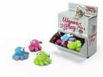 Wanna Play Octopus Rattle - 8x4,5cm - Levereras i Display