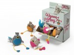 Wanna Play Bird Catnip - 8x7cm - Levereras i Display