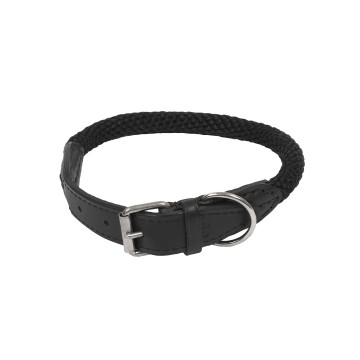 Forest Collar - S-M: 55cm / Ø15mm - 55cm / Ø15mm - Black - Utgående!