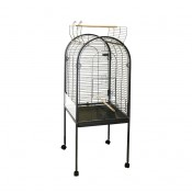 Parrot Cage Junior - 55x55x143cm - Hammerblow Grey