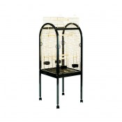 Parrot Cage Junior - 55x55x130cm - Black