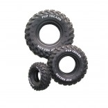 Rubber Tire with Bones - 10cm