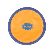 Aktiveringslek Duvo+ - Frisbee - 25cm - Orange/Blå - Tyst