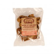 Farmz Pigs Ears Smoked Strips - 250gr