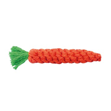 Knotted Cotton Carrot - 20cm