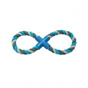 Knotted Cotton 8-Pull Ring - 33cm