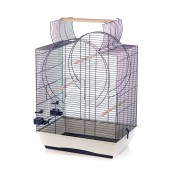 Cage Emma Open Roof - 54x39x72,5cm - Grey/Blue
