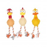 Latex Squeaky Poultry - 28cm - Mix