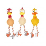 Latex Squeaky Poultry - 28cm - Mix - Utgående!