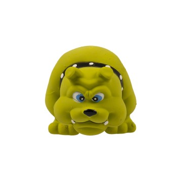 Latex Squeaky Bulldog - 11,5cm - Utgående!