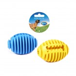 Rubber football 2pcs - 11,3cm - Mix - 2st - Utgående!