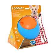 Foobler Smart Treat Dispenser with Timer Blue - Excl. 2x AA - 17cm / 6 puzzle pods