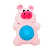 Plush Pig with Squeaker Belly