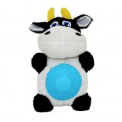 Plush Cow with Squeaker Belly