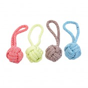 Scooby Rope Dummy Ball - 7,6x18cm - Mixed