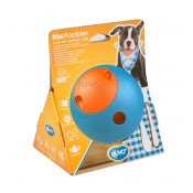 Aktiveringslek Duvo+ - Foobler Aktivitetsboll Mini med timer - 11,5cm - Blå/Orange