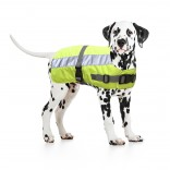Flectalon Hi Vis Dog Jacket - Thermally-insulated - 25cm - Reflecting