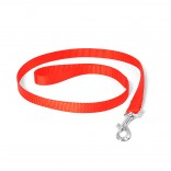 Nylon Lead - S - 120cm/15mm - Red
