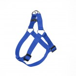 Nylon Step In Harness - M - 50-65cm/20mm - Blue