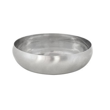 Feeding Bowl Bulbed Bottom Brushed Slow - ø16,6cm - 1000ml