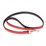 Comfy Leather Leash - ALL - 100cm/18mm - Red - Utgående!