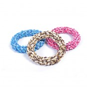 Knotted Rope Ring Mix - 14cm
