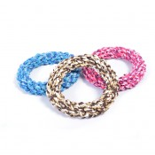 Knotted Rope Ring Mix - 19cm