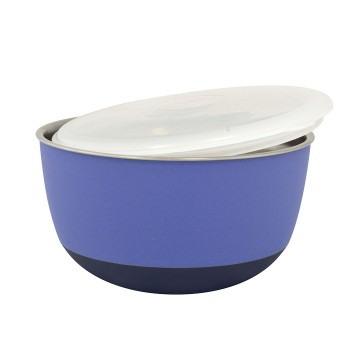 Feeding Bowl with Lid Matte Balance - ø13,5cm - Purple - 700ml