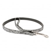 Trendy Leather Leash - ALL - 100CM/14MM - Silver