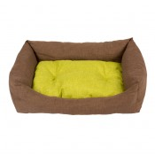 Bed Rectangular Earth - 70x60cm - Brown & Green