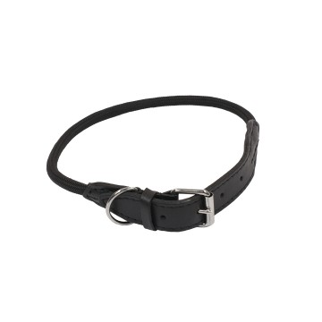 Forest Collar - S-M: 55cm / Ø8mm - 55cm / Ø8mm - Black - Utgående!