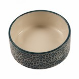 Feeding Bowl Stone Deco Azul - ø20cm - Blue - 1600ml