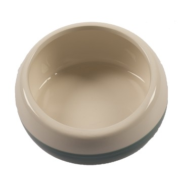 Feeding Bowl Stone Obliq - ø15cm - Blue/white - 700ml