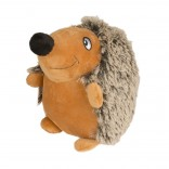 Plush standing hedgehog fluffy - 17cm - Utgående!