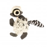 Plush racoon with rope fluffy - 21cm