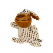 Plush dog fluffy with flat ears - 26cm