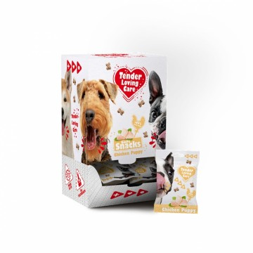 Tender Loving Care SoftSnack - Chicken Puppy - 100g - Påse i Display