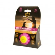 LED Boll - LED Flash ball USB - 10cm - Rosa Blink
