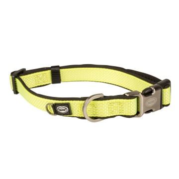 Halsband - EXPLOR North - 20-35cm/15mm - Neongul
