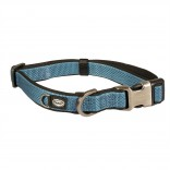 EXPLOR North collar nylon - L - 35-55cm/20mm - Petrol blue