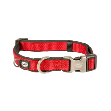 Halsband - EXPLOR North - 35-55cm/20mm - Röd