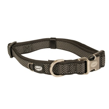 Halsband - EXPLOR North - 30-45cm/15mm - Svart