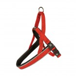 EXPLOR East harness nylon - XL - 65-80cm/25mm - Red