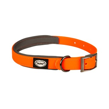 Halsband - PVC EXPLOR South - 30-45cm/15mm - Neonorange