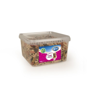 Duvo Chews - Bone mix 9 varianter - Låda - 1900g