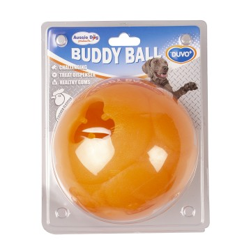 Aktiveringslek Duvo+ - Buddy Ball Godisgömma - Ø15cm - Orange