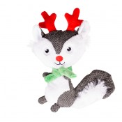 Xmas Plush Squirrel - 20x14x4cm